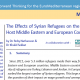 FEMISE MED BRIEF no7 : The Effects of Syrian Refugees on the Labor Markets of Host Countries