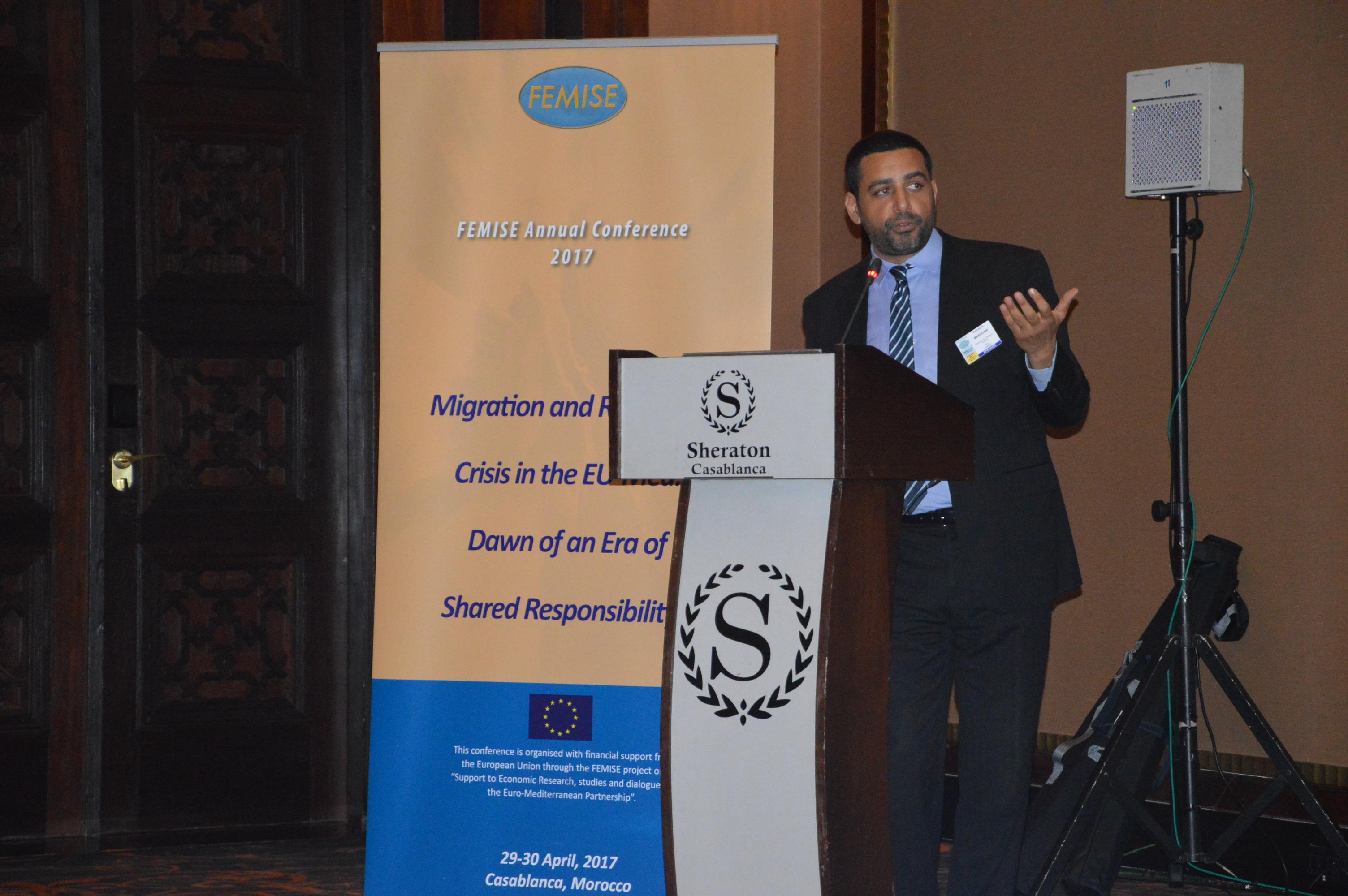 Mohamed Ali Marouani, FEMISE conference 2017