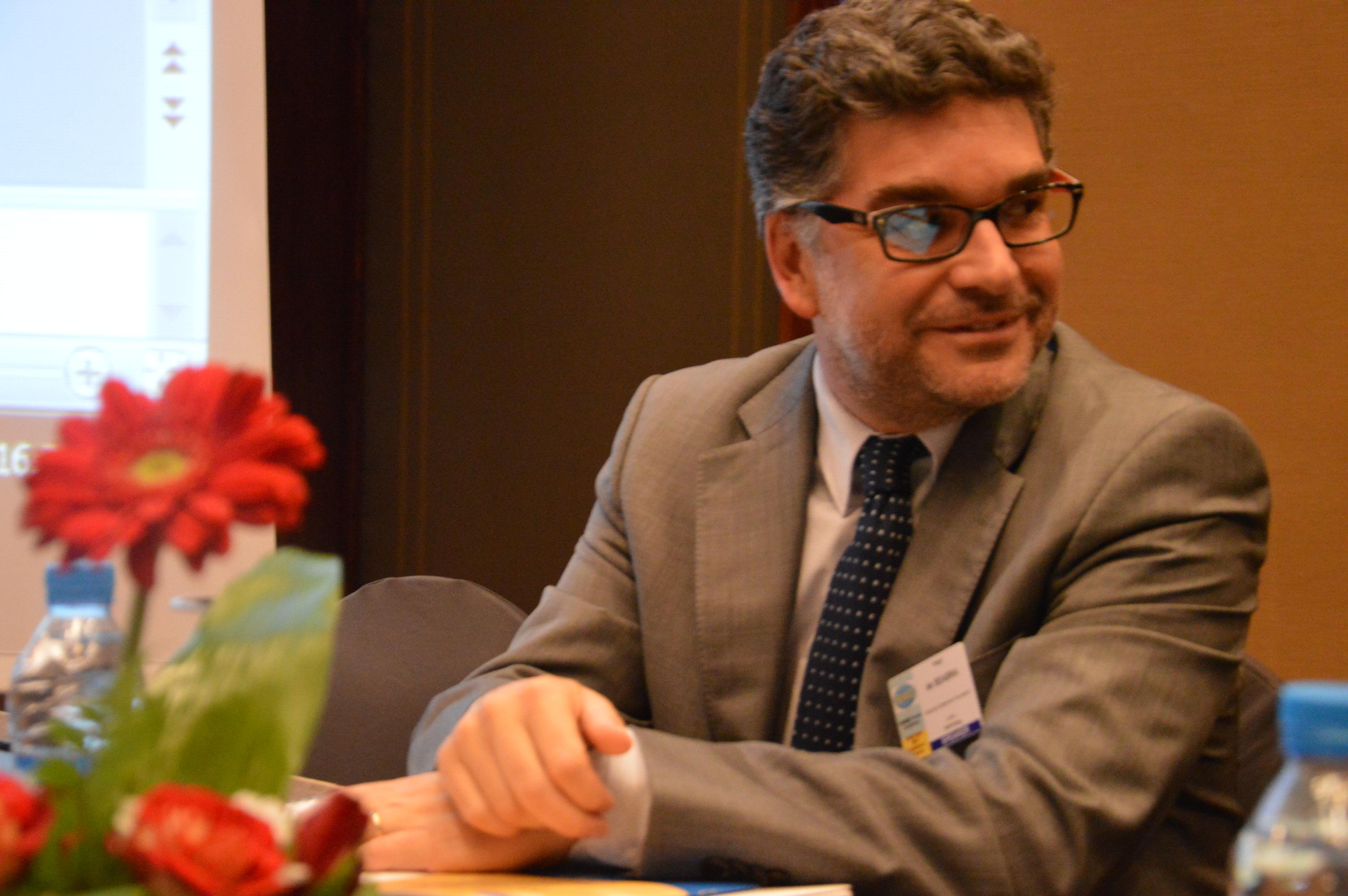 Hugo de Seabra, FEMISE conference 2017