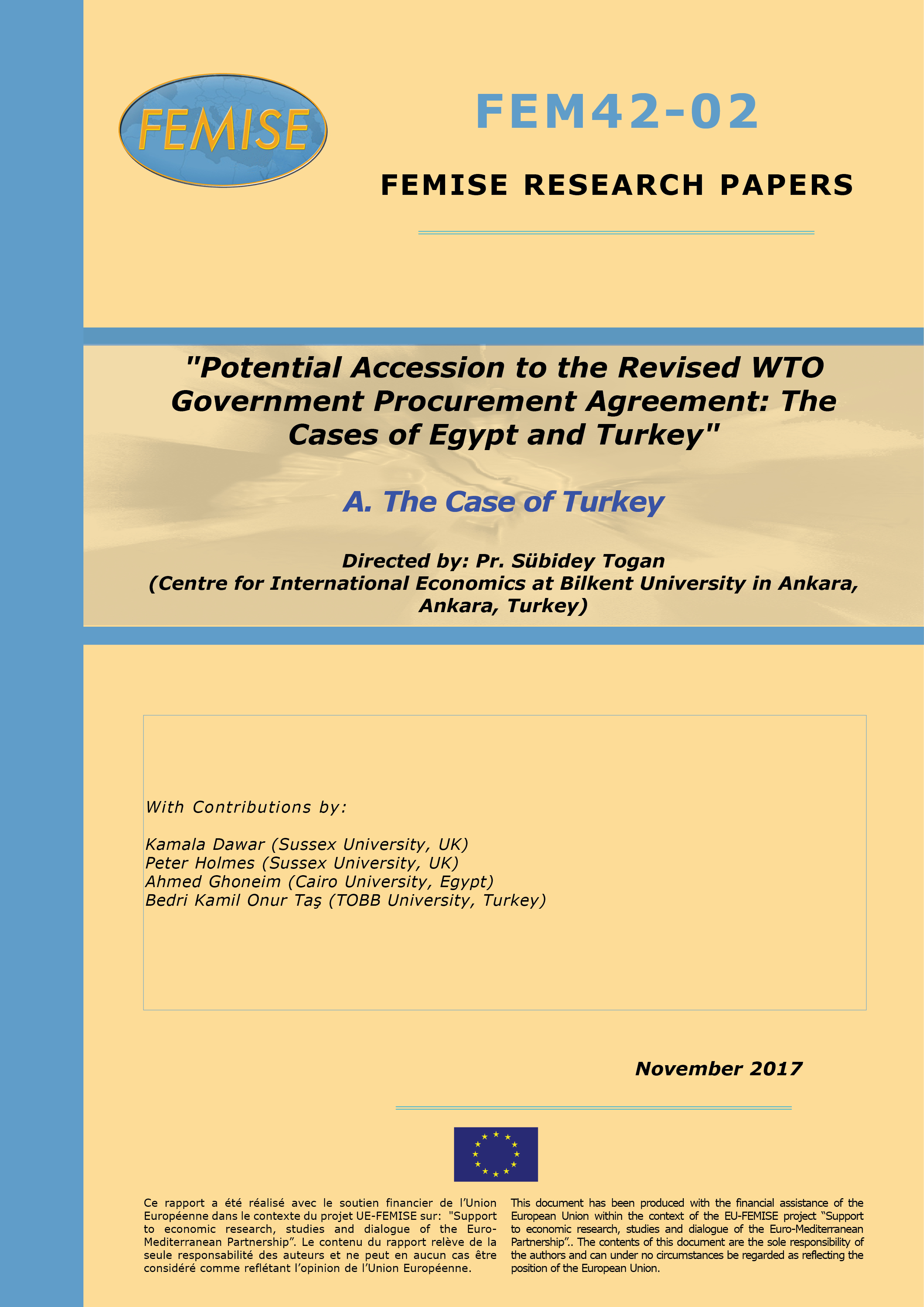 Potential Accession To The Revised Wto Government Procurement